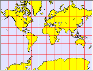 Map Projection - Mercator Projection