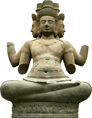 Hinduism - Brahma is the god of knowledge and the creator of the universe.