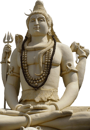Hinduism - Shiva is the god of destruction and re-creation.