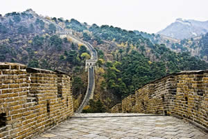 Chinese History - A view from the Great Wall of China