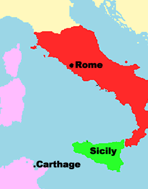Rome, Sicily, and Carthage