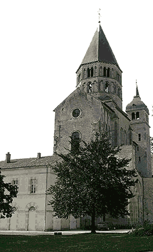 The Middle Ages - Christendom - Cluny Abbey