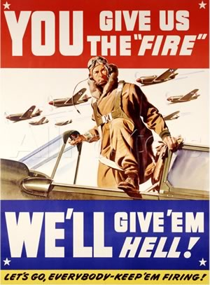 World War II - poster