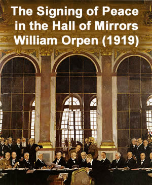 World War I - Hall of Mirrors