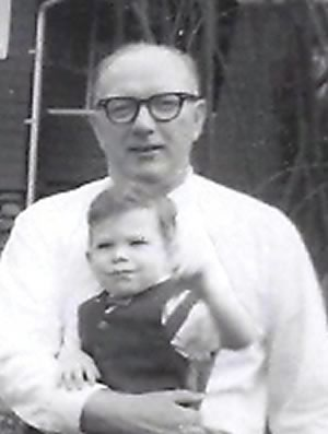 Dad and me in 1965.